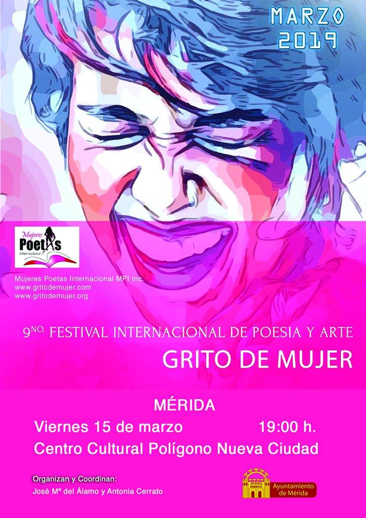 9º Festival Internacional de Poesía y Arte 'Grito de Mujer'