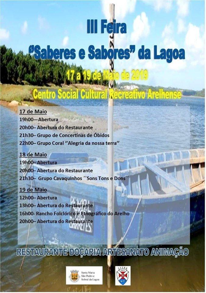 III Feira«Saberes & Sabores da Lagoa»2019