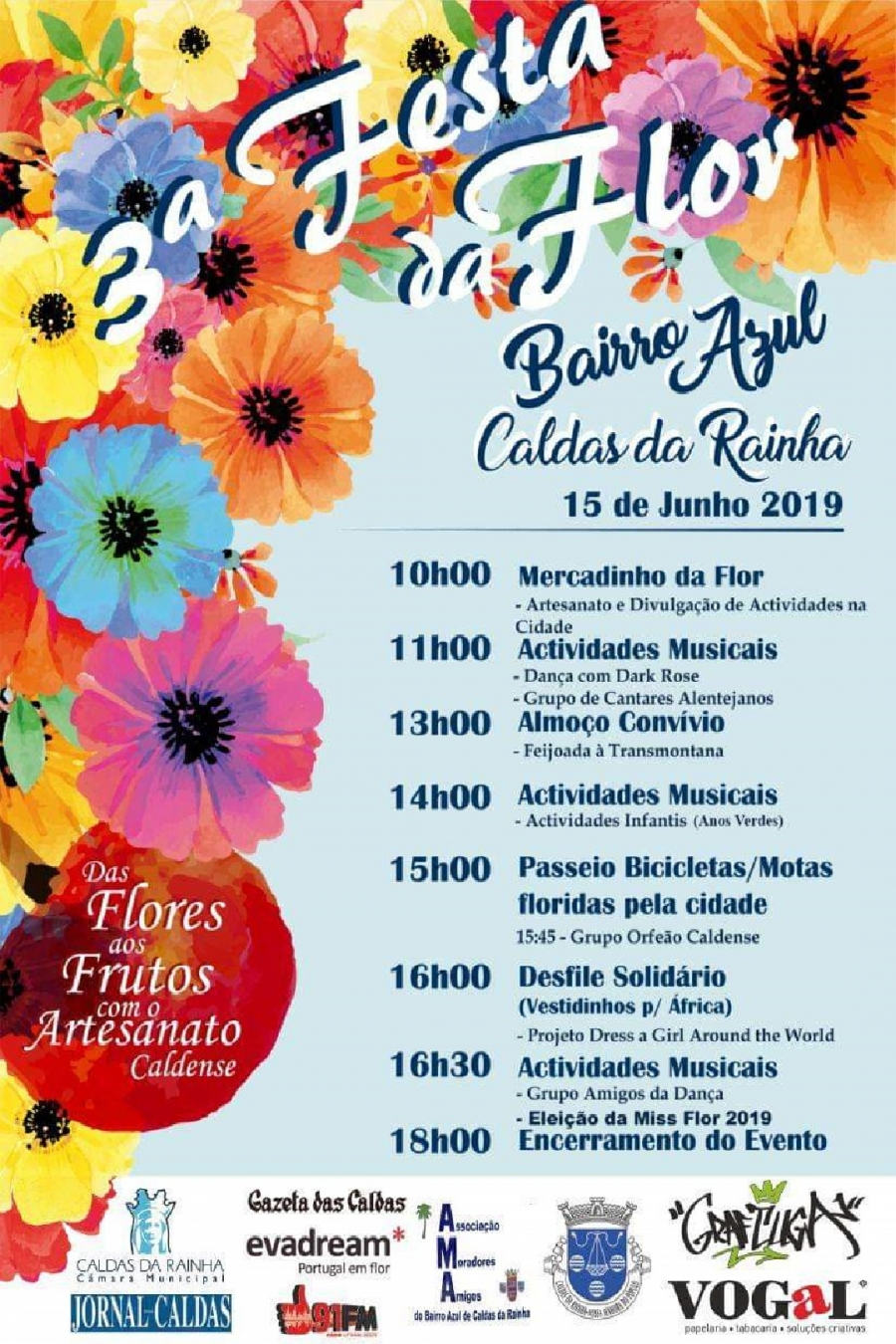 3º Festa da Flor - Bairro Azul