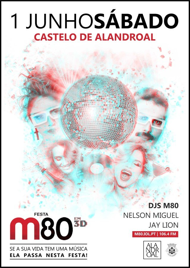 Festa M80 em 3D