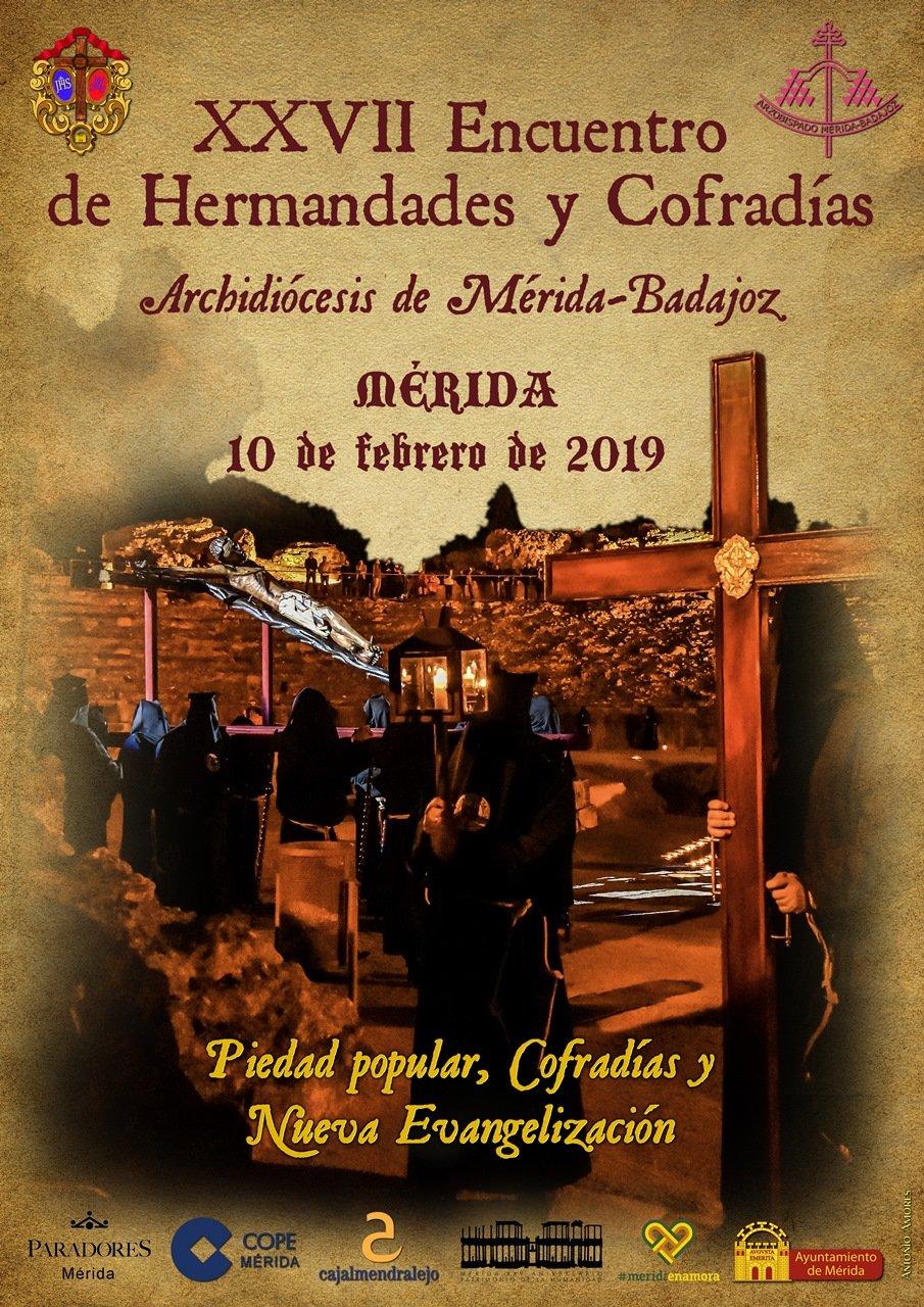 XXVII Encuentro de Hermandades y Cofradías de la Archidiócesis de Mérida-Badajoz