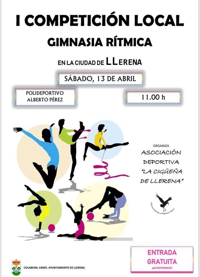 I Competición Local de Gimnasia Rítmica en Llerena