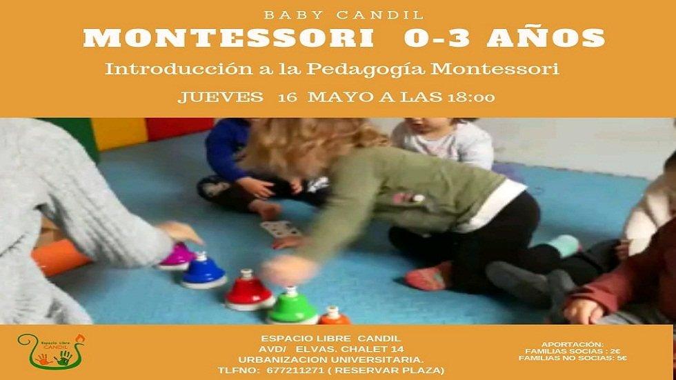 Introducción a la Pedagogía Montessori - Espacio Libre Candil