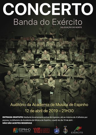 Concerto: Banda do Exército