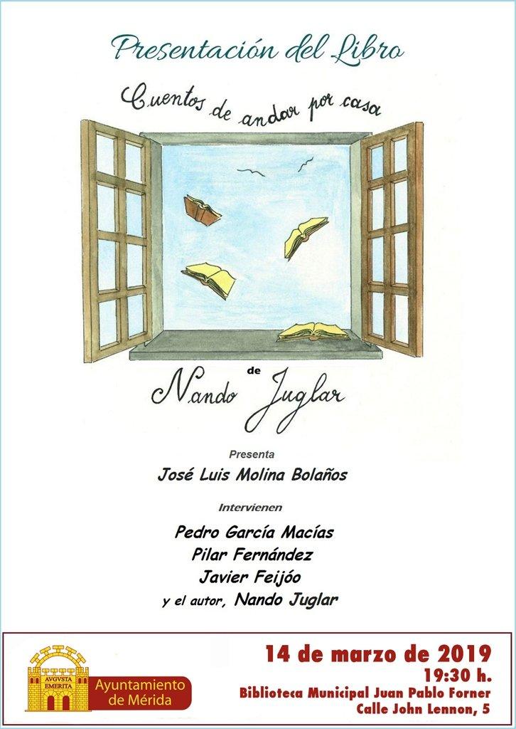 """Presentación del libro """"Cuentos de andar por casa"""" de Nando Juglar"""