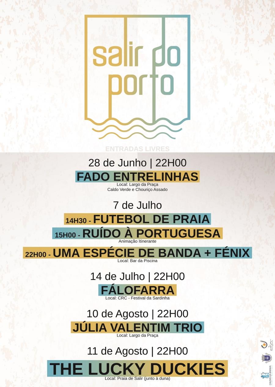 O Verão em Salir do Porto