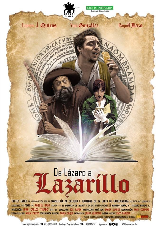 "Teatro: ""De Lázaro a Lazarillo"""