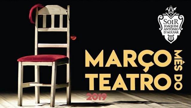 Março Mês do Teatro