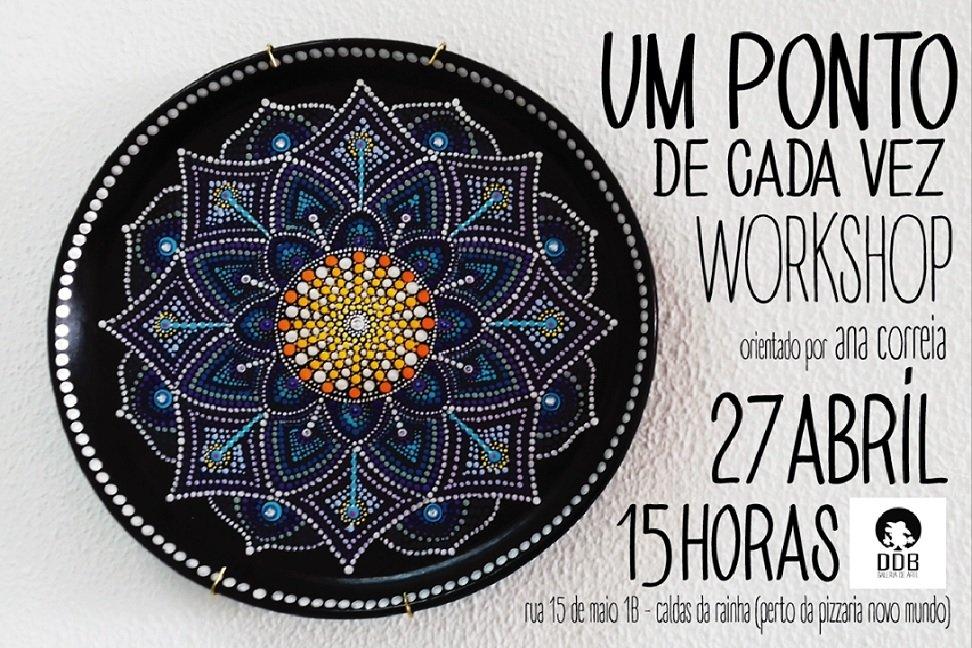 Workshop 'Um ponto de cada vez', por Ana Correia