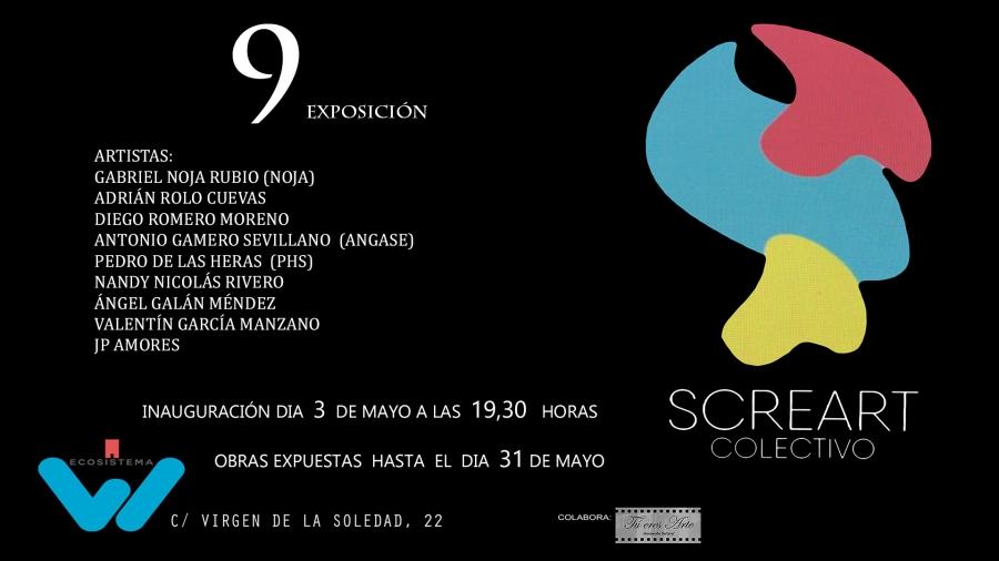 Exposición Colectiva SCREART