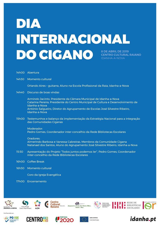Comemoração do Dia Internacional do Cigano