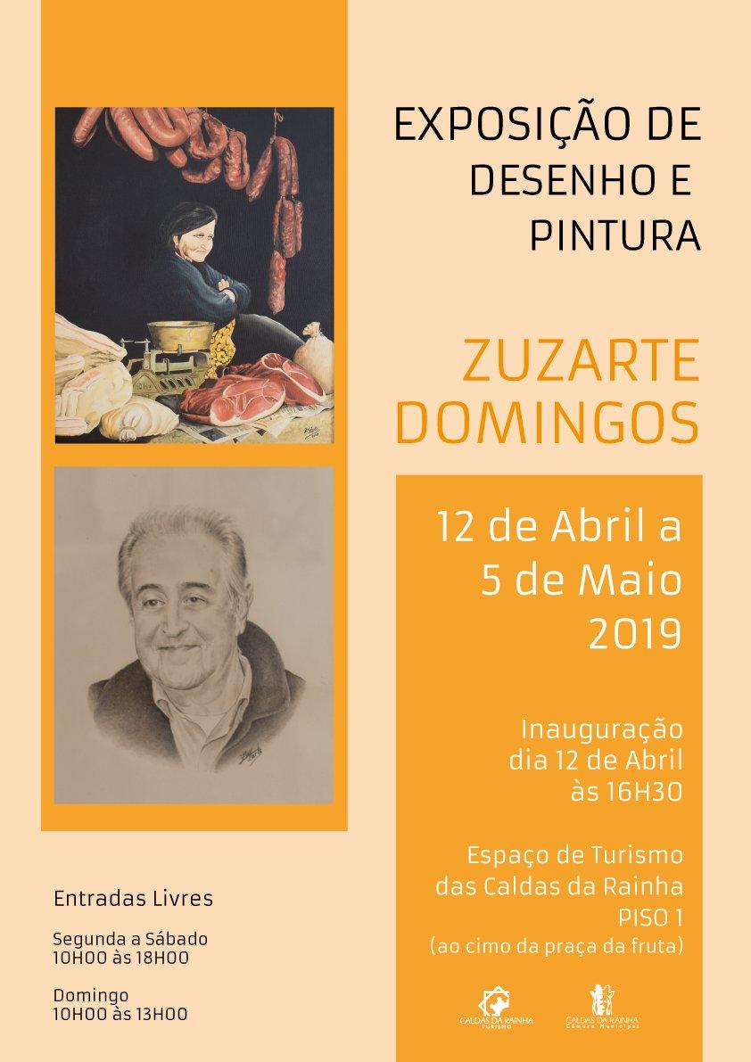 Exposição de Desenho e Pintura, de Zuzarte Domingos
