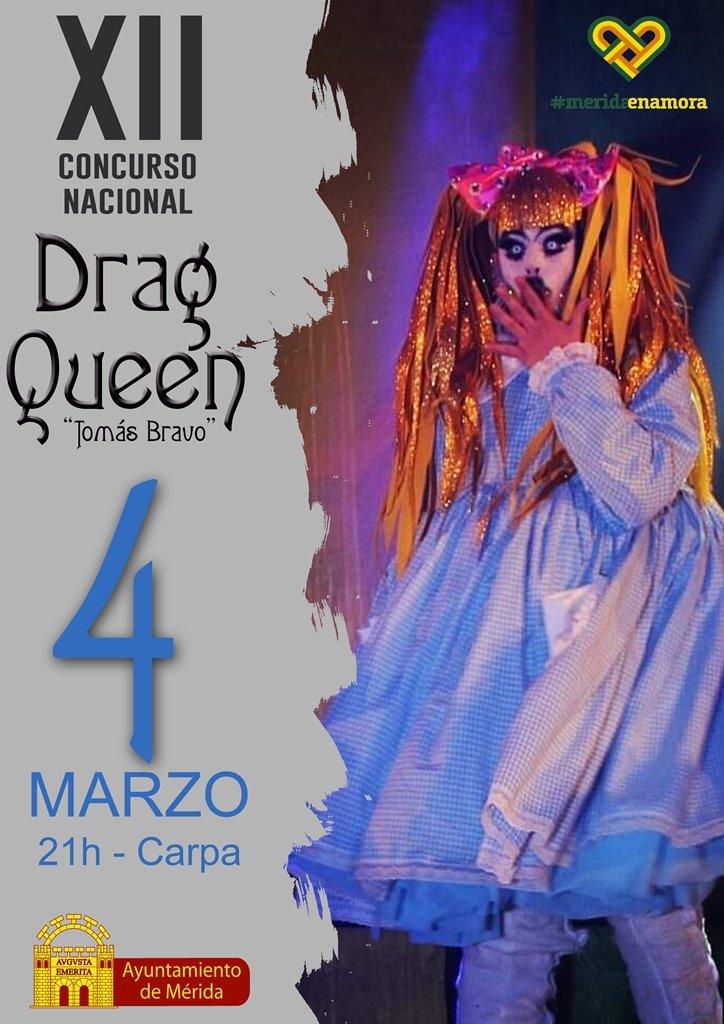 XII Concurso Nacional Drag Queen 'Tomás Bravo'
