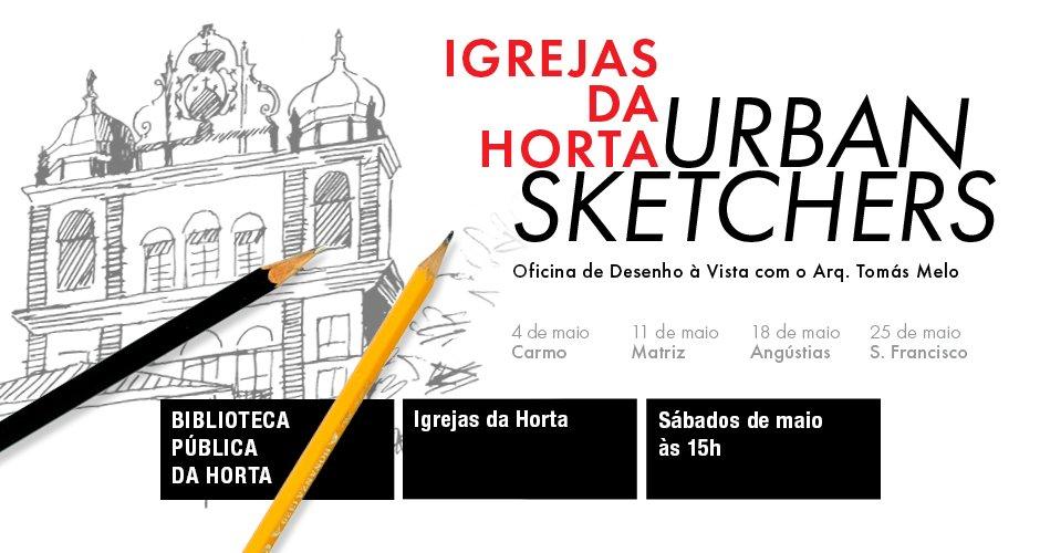 Horta Urban Sketchers