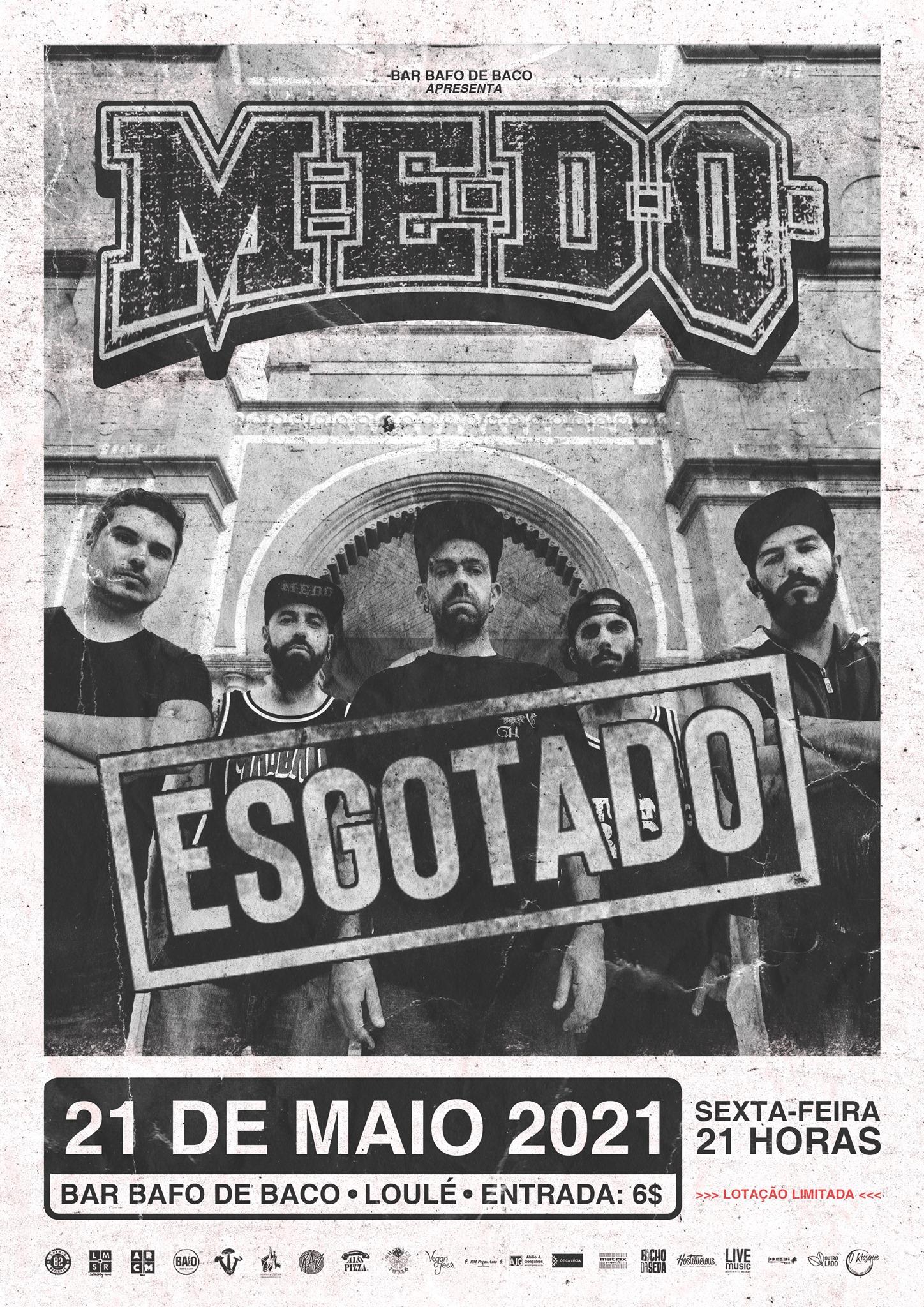 M.E.D.O.   Bafo de Baco, Loulé   21.05.2021   21h