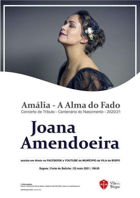 """Joana Amendoeira canta """"Amália - A Alma do Fado"""" no Forte do Beliche - Sagres"""