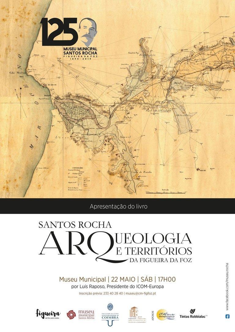 """Apresentação do livro do Colóquio """"Santos Rocha, Arqueologia e Territórios ..."""
