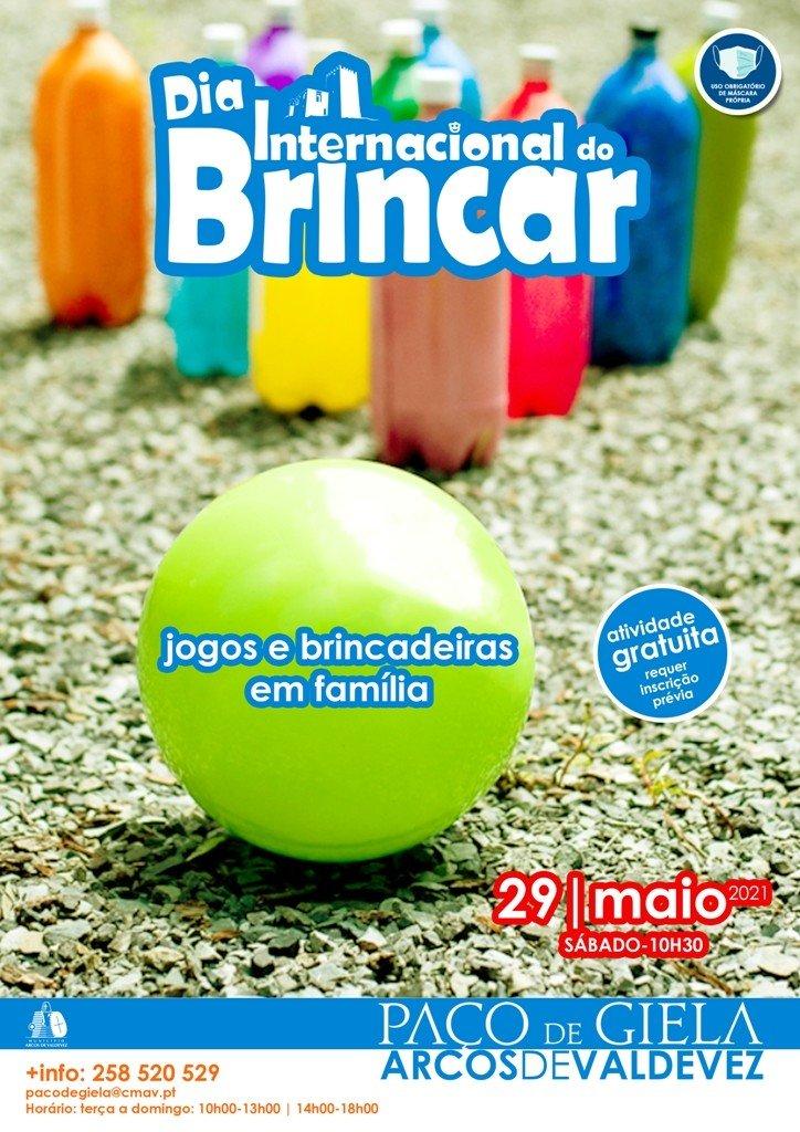 PAÇO EM FAMÍLIA (Dia Internacional de brincar)