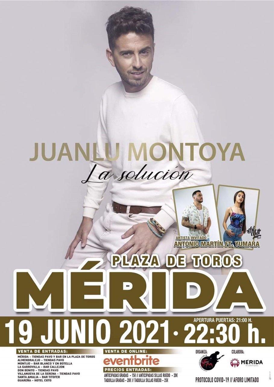 Juanlu Montoya en concierto