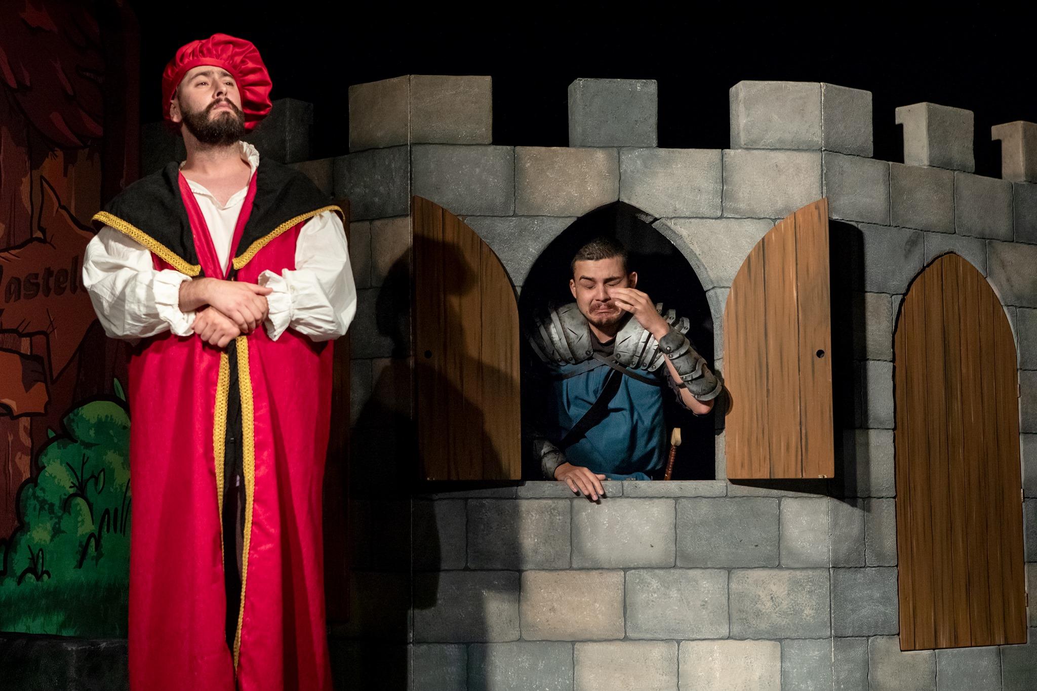 O Cavaleiro em terras de Oriana - Teatro Sá da Bandeira