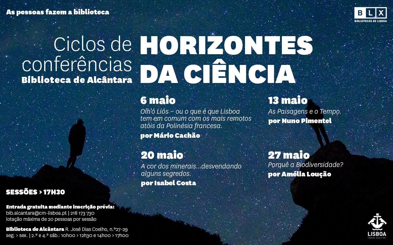 Ciclos de Conferências Horizontes da Ciência