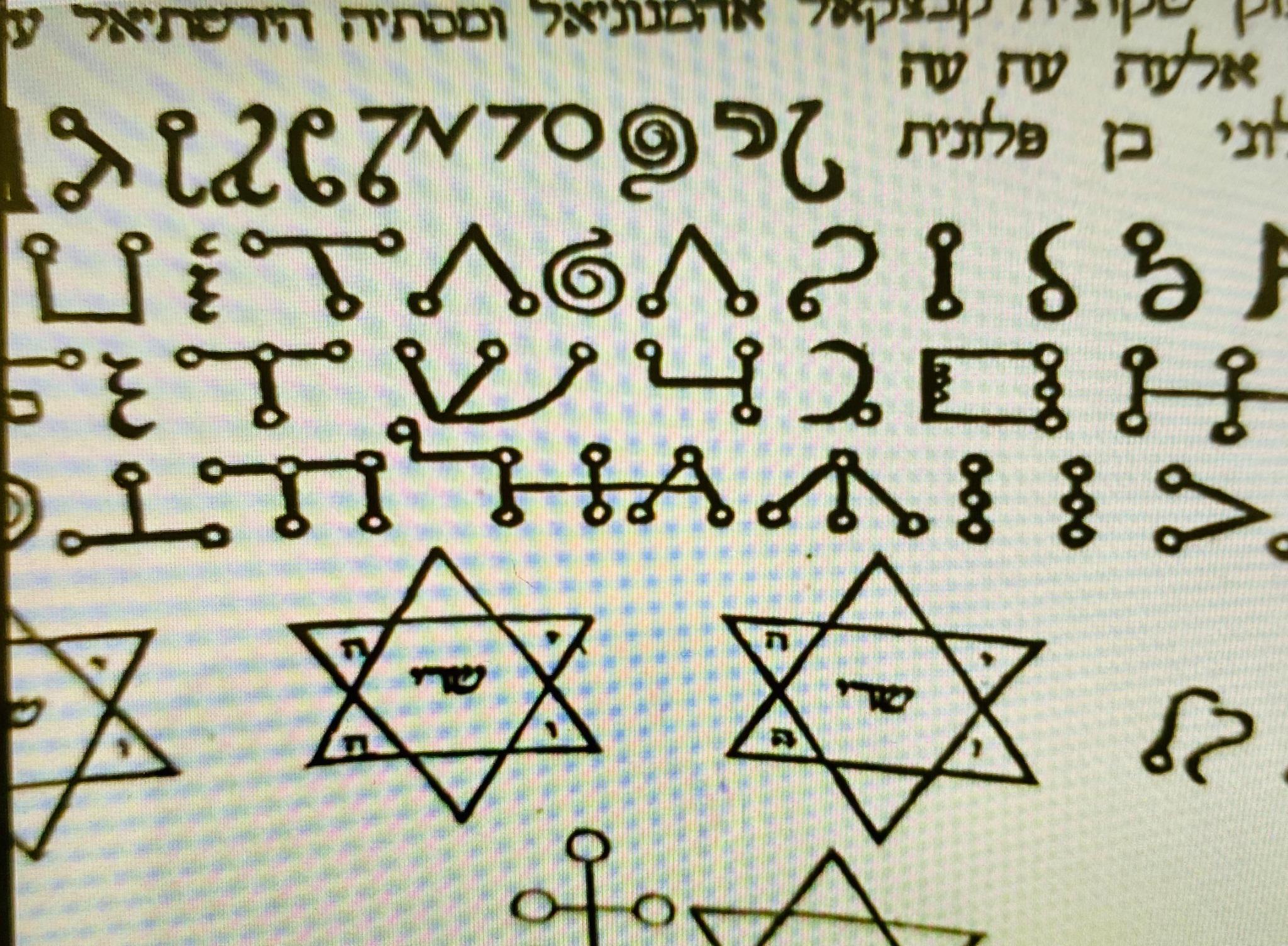 Curso Alfabetos Sagrados e Angélicos Kabalisticos