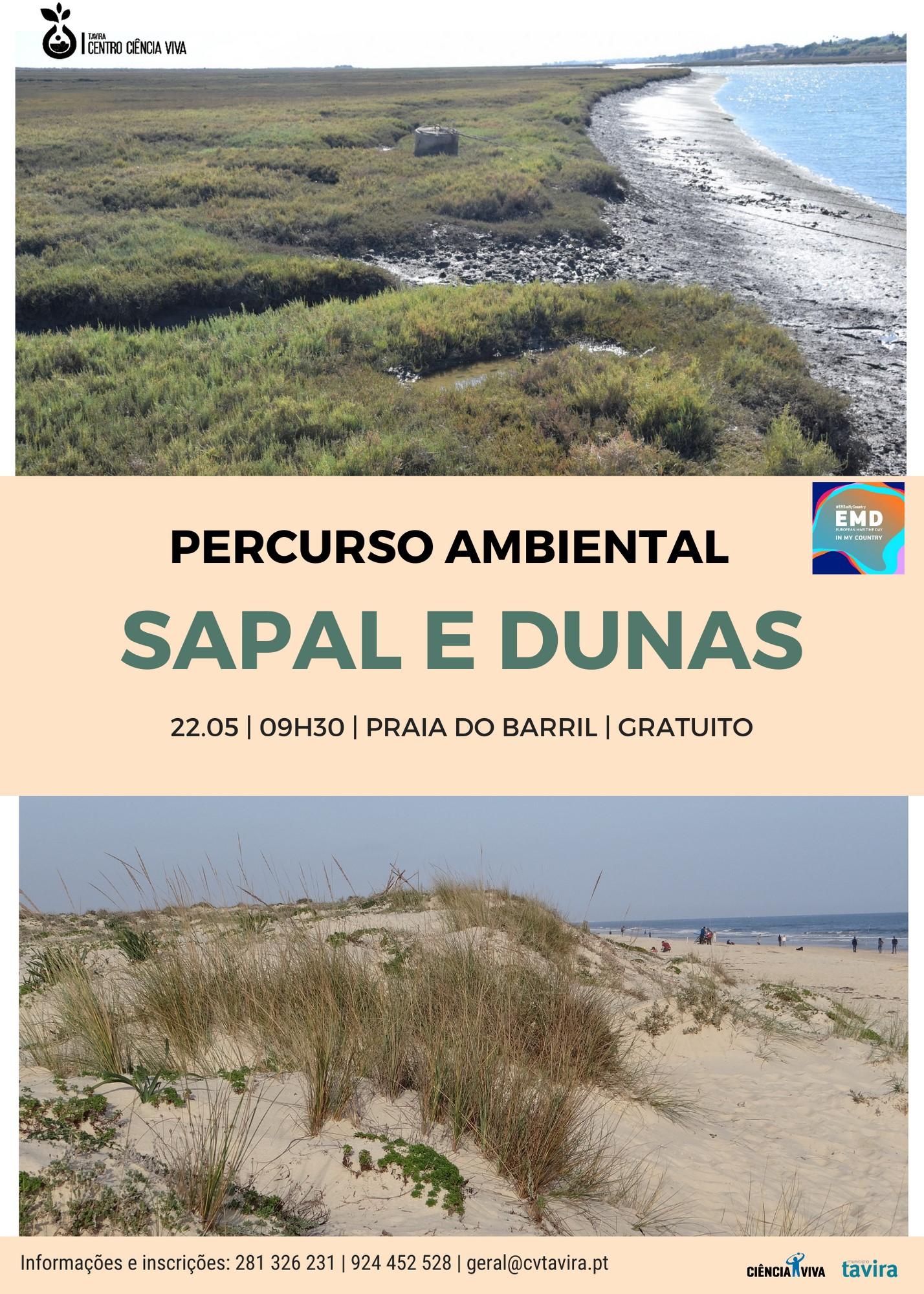 """Percurso """"Sapal e dunas"""""""