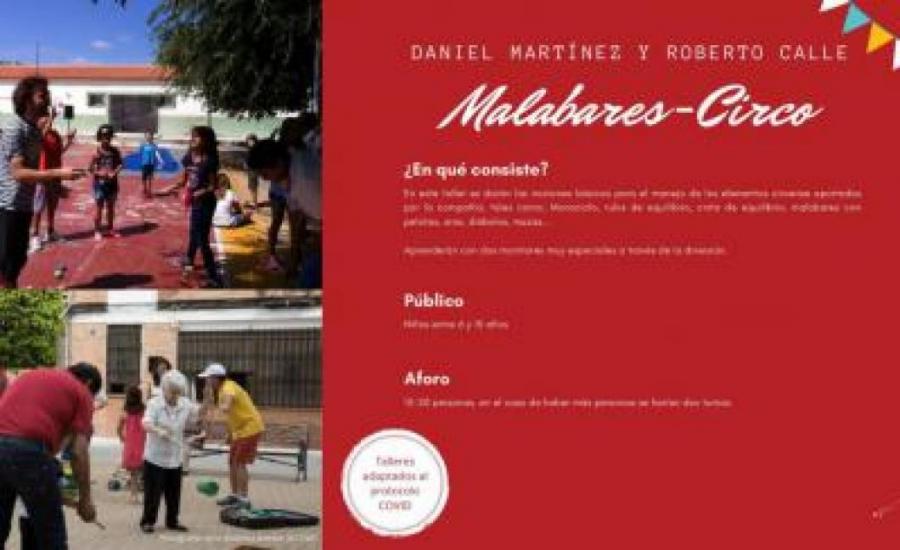 TALLER DE MALABARES. IMPARTIDO POR ROBERTO CALLE Y DANIEL MARTINEZ