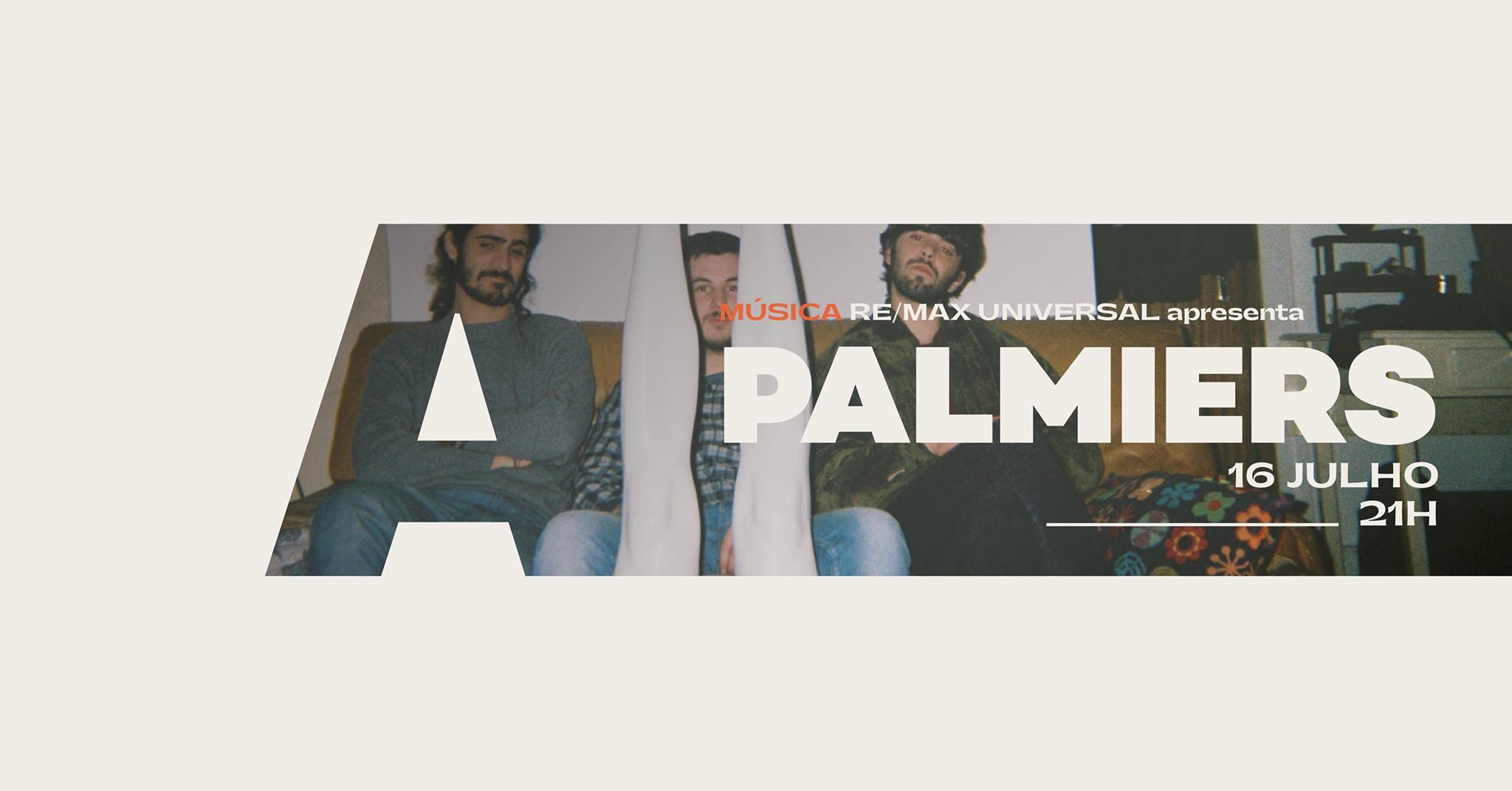 Re/Max Universal apresenta Palmiers @Avenida Café-Concerto