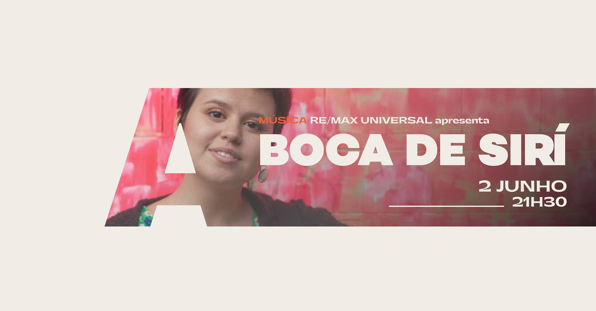 Re/Max Universal apresenta Boca de Sirí @Avenida Café-Concerto