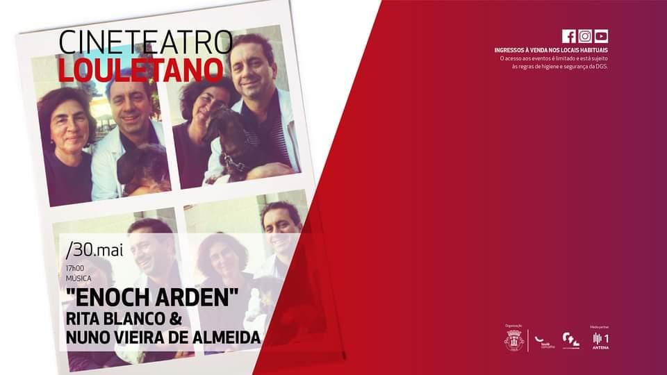 Recital 'Enoch Arden' - Rita Blanco e Nuno Vieira de Almeida