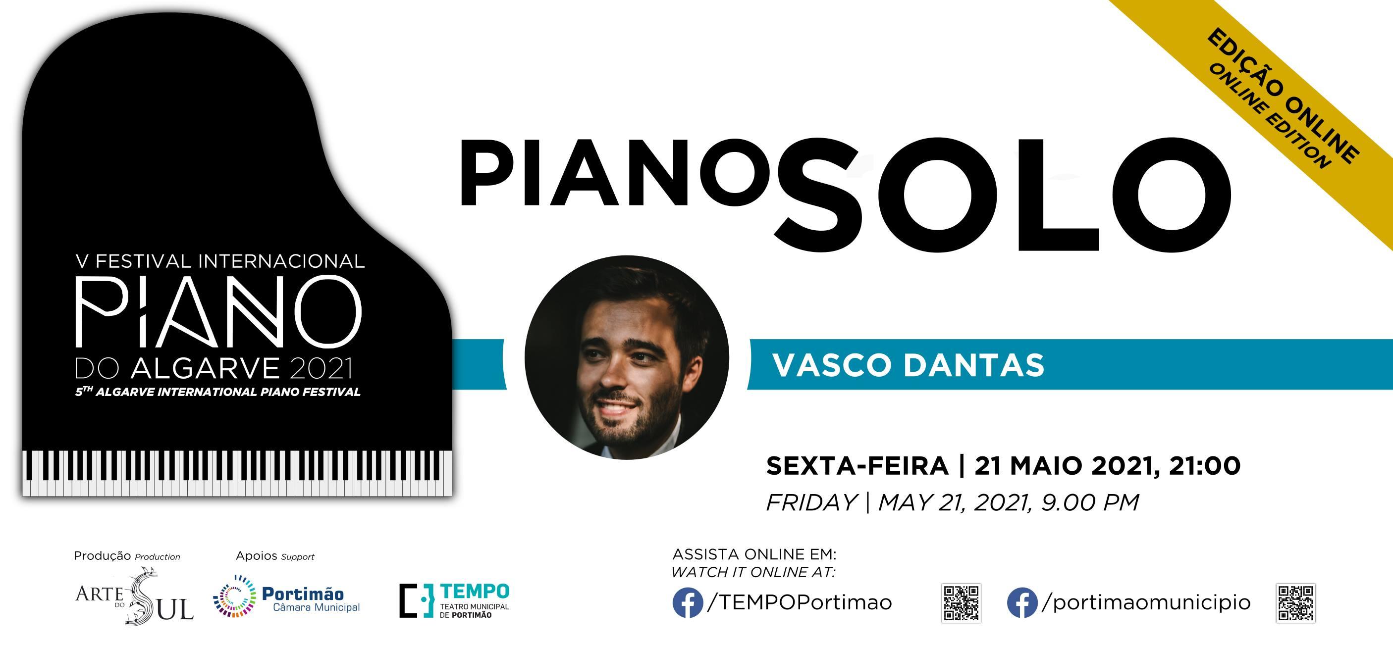 Piano Solo: Vasco Dantas