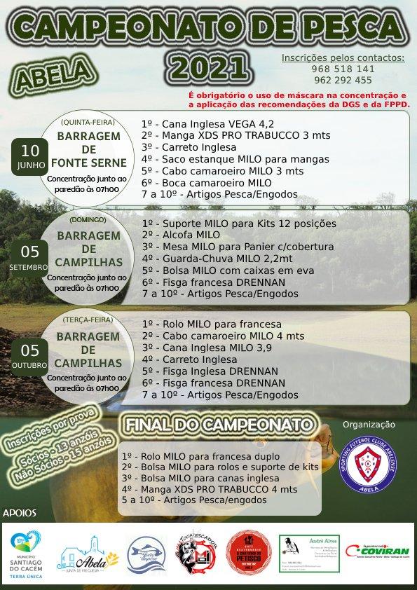 Campeonato de Pesca – Barragem de Fonte Serne