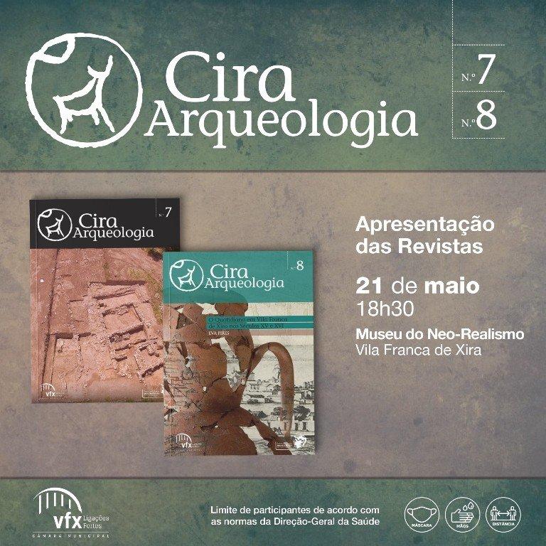 Lançamento dos volumes 7 e 8 da Revista Cira Arqueologia