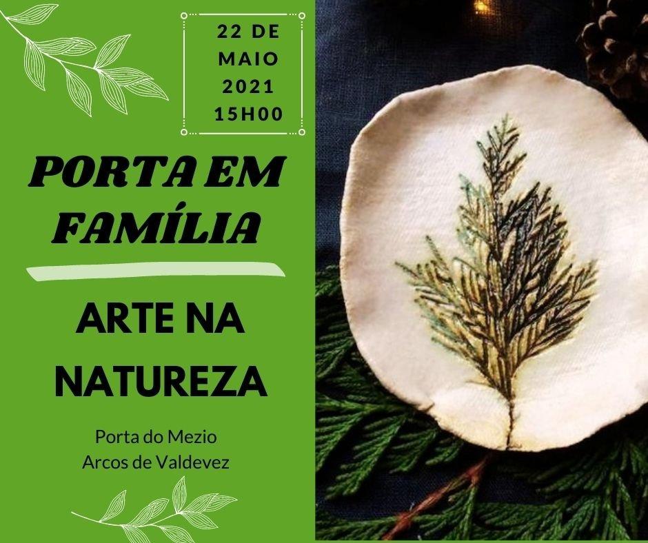 """""""Porta em Família – Arte na Natureza"""""""