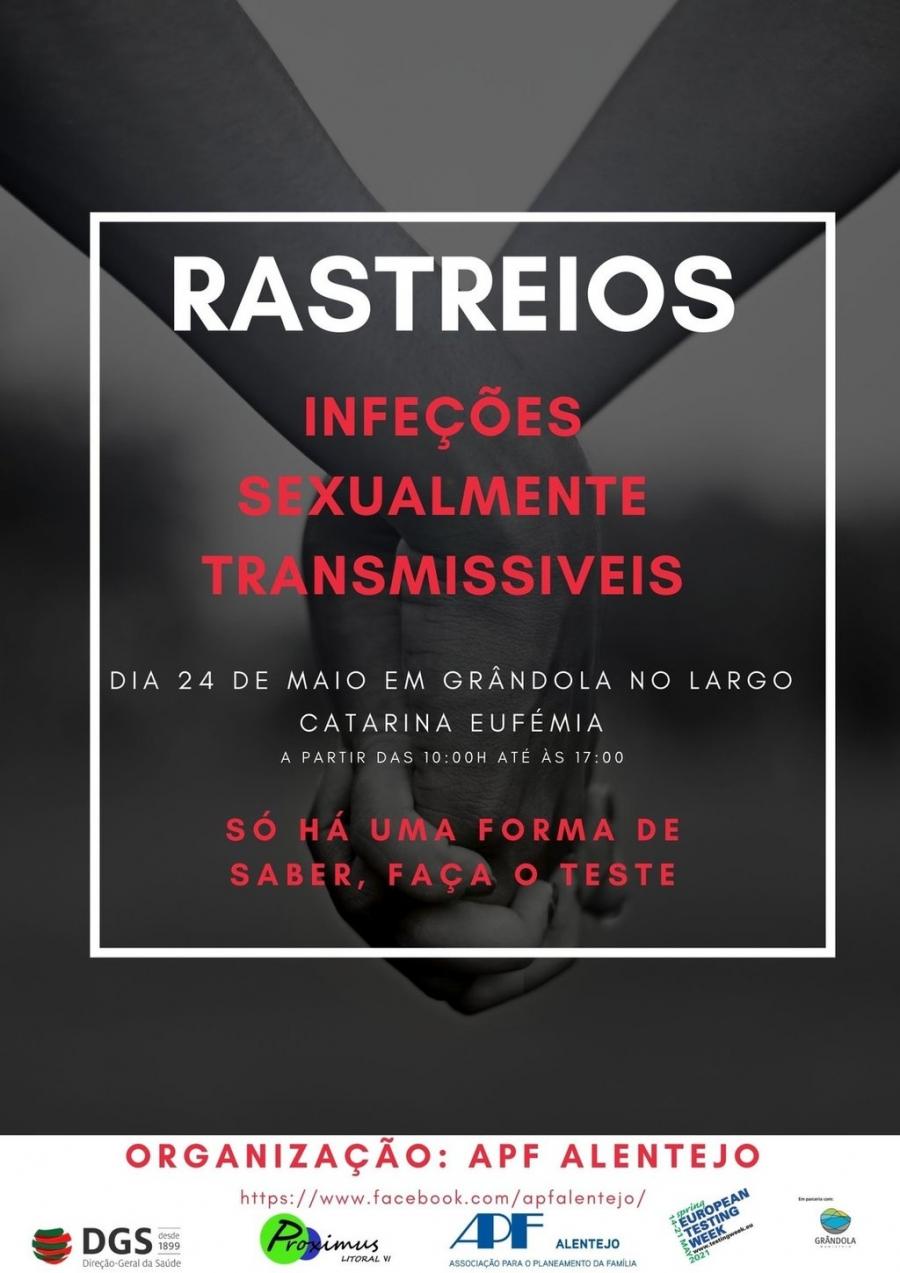 Rastreio | Grândola - Acção de rastreio  das infecções sexualmente ...