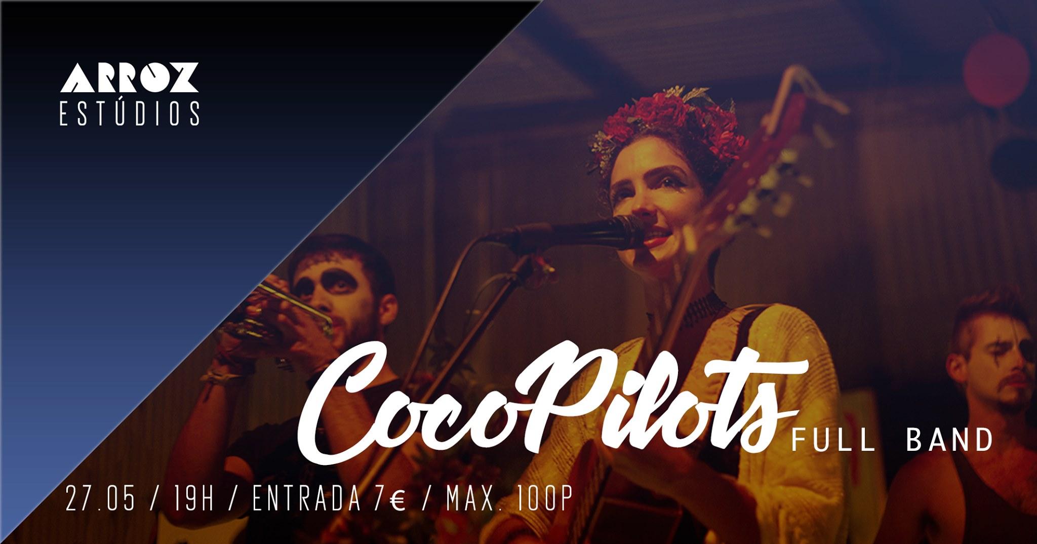 CocoPilots Full Band at Arroz Esúdio