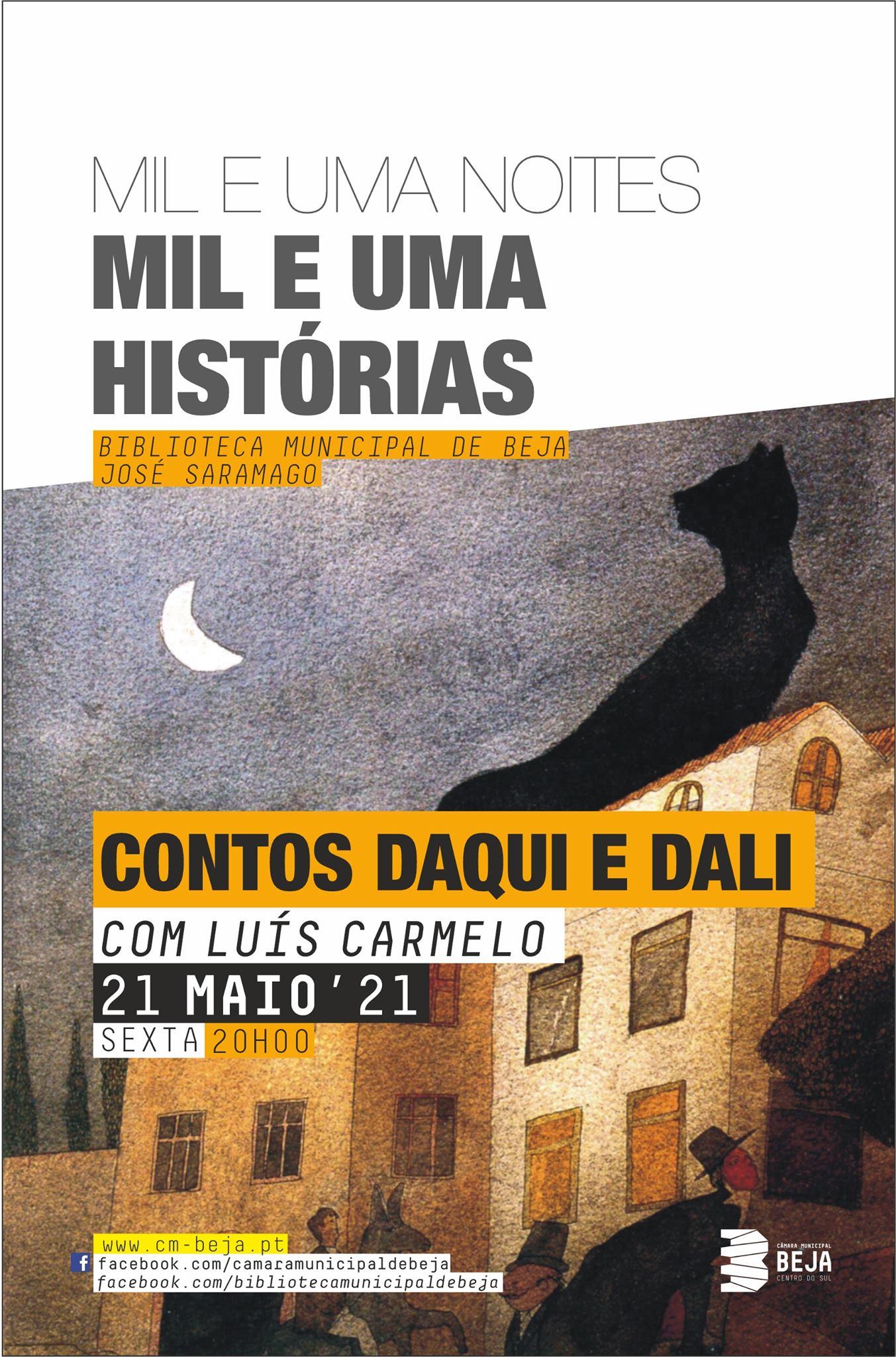 Contos Daqui e Dali com Luís Carmelo