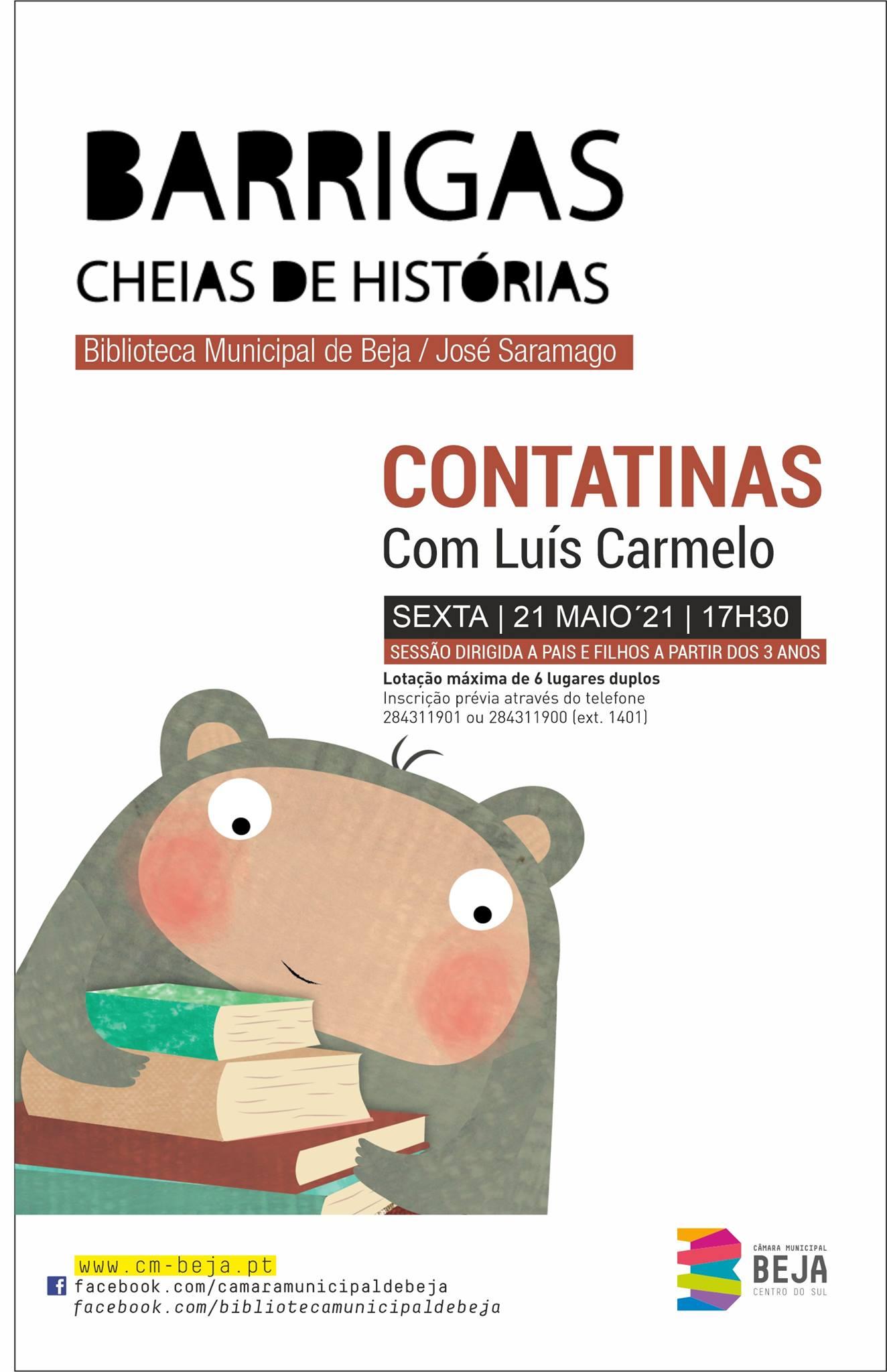 Contatinas com Luís Carmelo