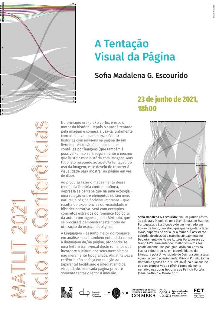 """Conferência """"A Tentação Visual da Página"""""""