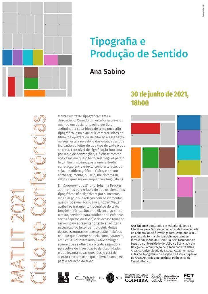 """Conferência """"Tipografia e Produção de Sentido"""""""