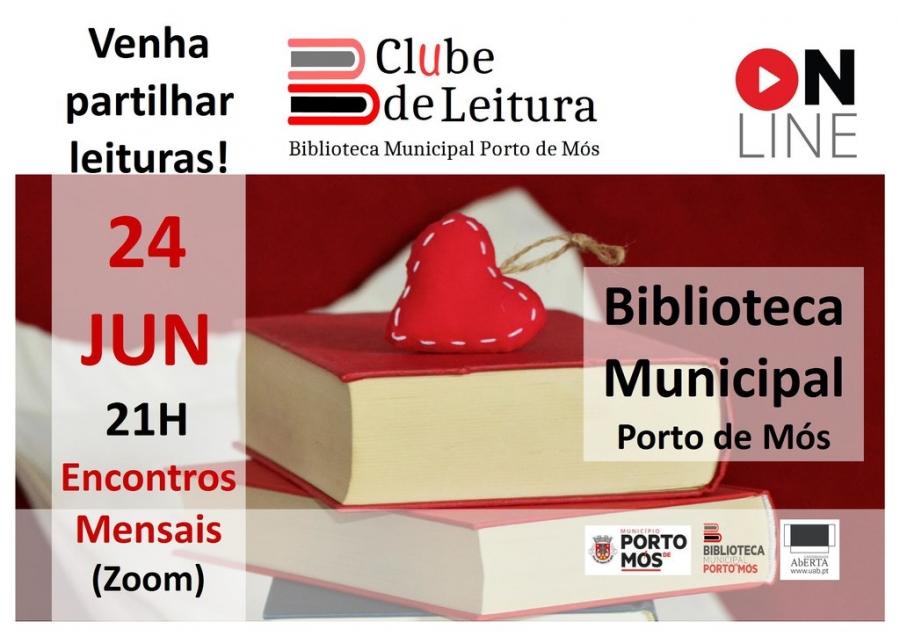 Clube de leitura...online