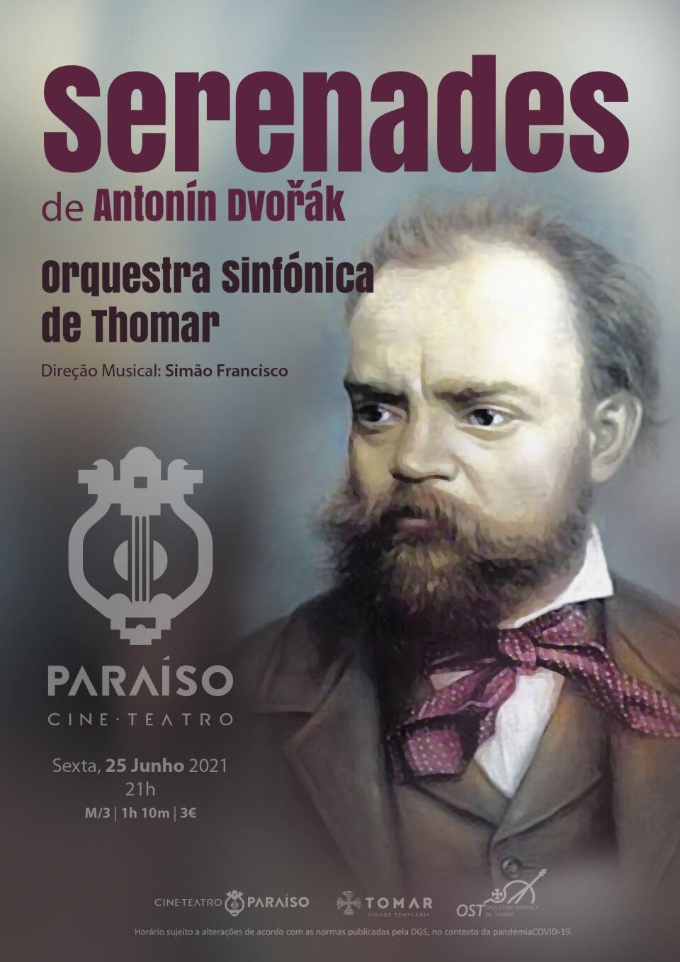 Serenades de Antonín Dvořák pela Orquestra Sinfónica de Thomar