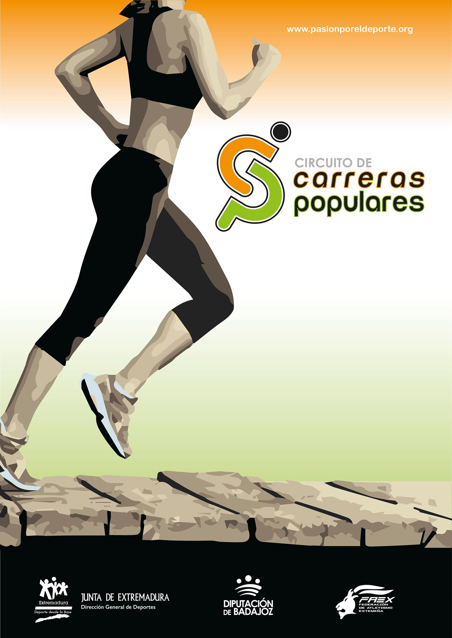 CIRCUITO DE CARRERAS POPULARES   Mérida
