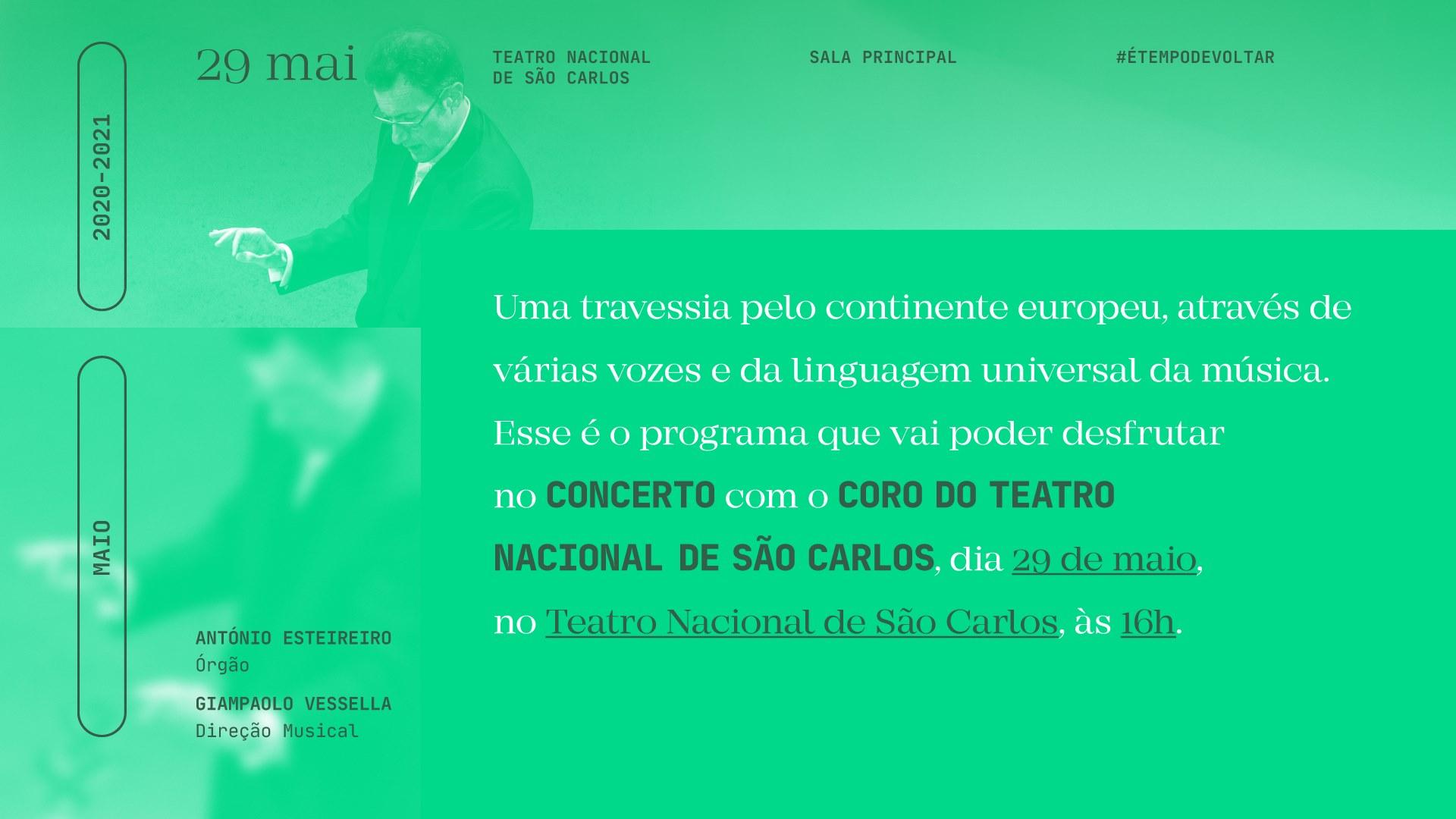 Concerto Coro do Teatro Nacional de São Carlos