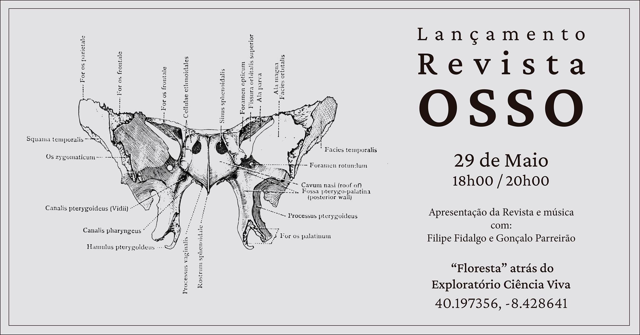 Lançamento Revista OSSO
