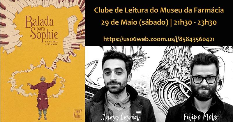Conversa: 'Balada para Sophie', com Filipe Melo e Juan Cavia