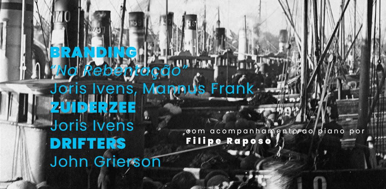BRANDING + ZUIDERZEE + DRIFTERS com acompanhamento ao piano por Filipe Raposo