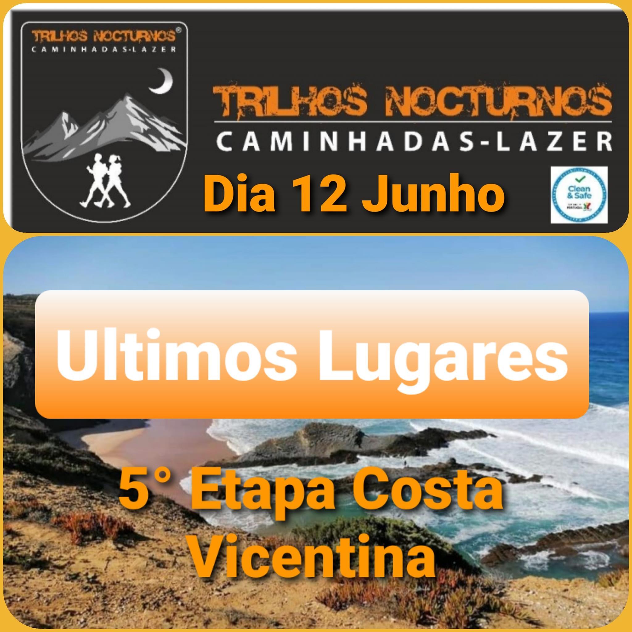 Caminhada Costa Vicentina- 5ª Etapa/ Odeceixe - Praia da Amoreira