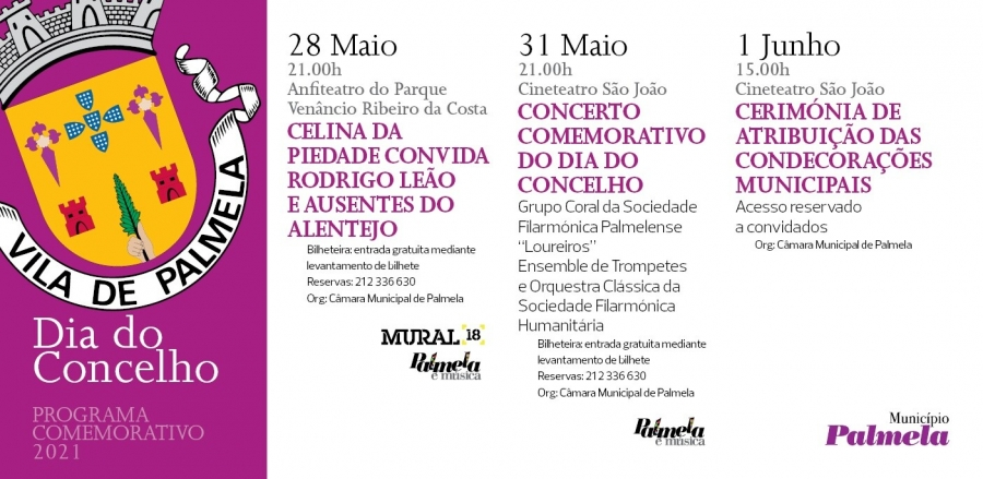 COMEMORAÇÕES DO DIA DO CONCELHO DE PALMELA